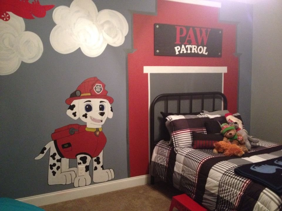 Best Paw Patrol Room For My Son This Is My Life Pinterest Paw Patrol Sons And Room With Pictures