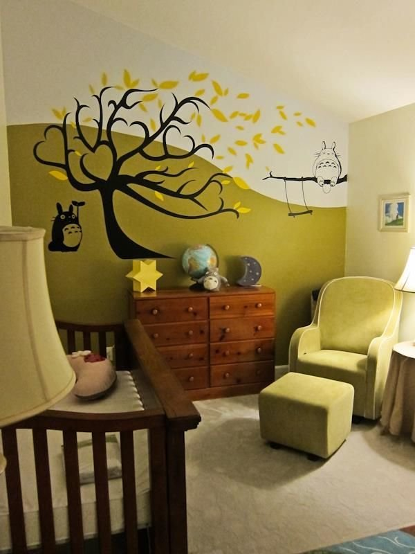 Best Our Totoro Nursery Totoro Nursery Pinterest Totoro With Pictures