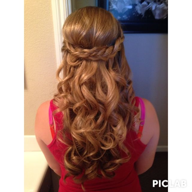 Free How I Did My Hair For My 8Th Grade Promotion Dance Hair Wallpaper