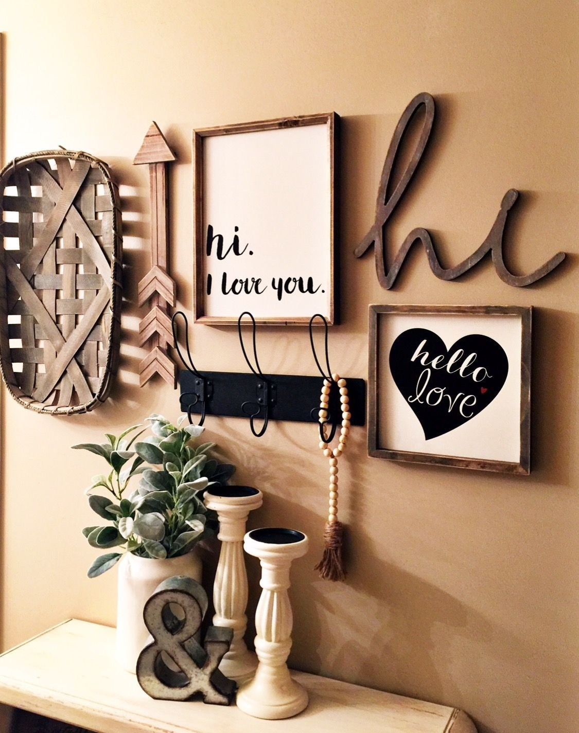 Best Farm Decor Gallery Wall In My Master Bedroom Found All With Pictures