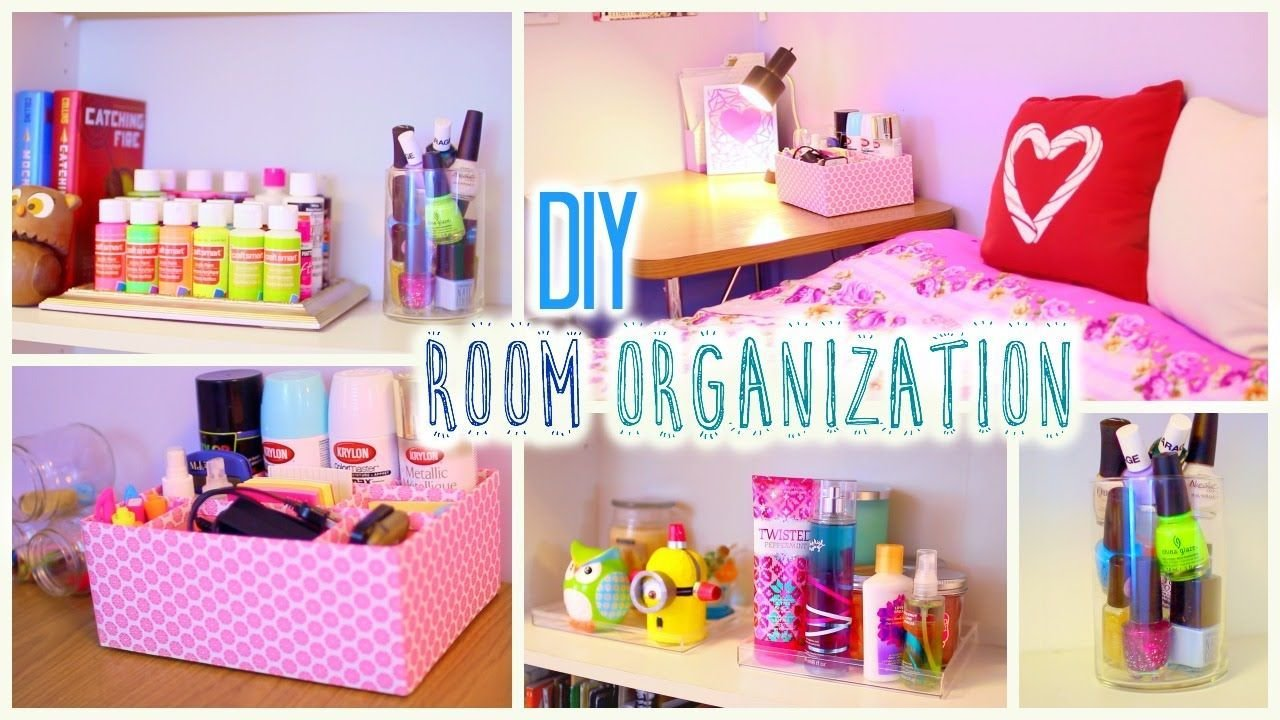 Best Diy Room Organization And Storage Ideas How To Clean Your Room How To Make A With Pictures