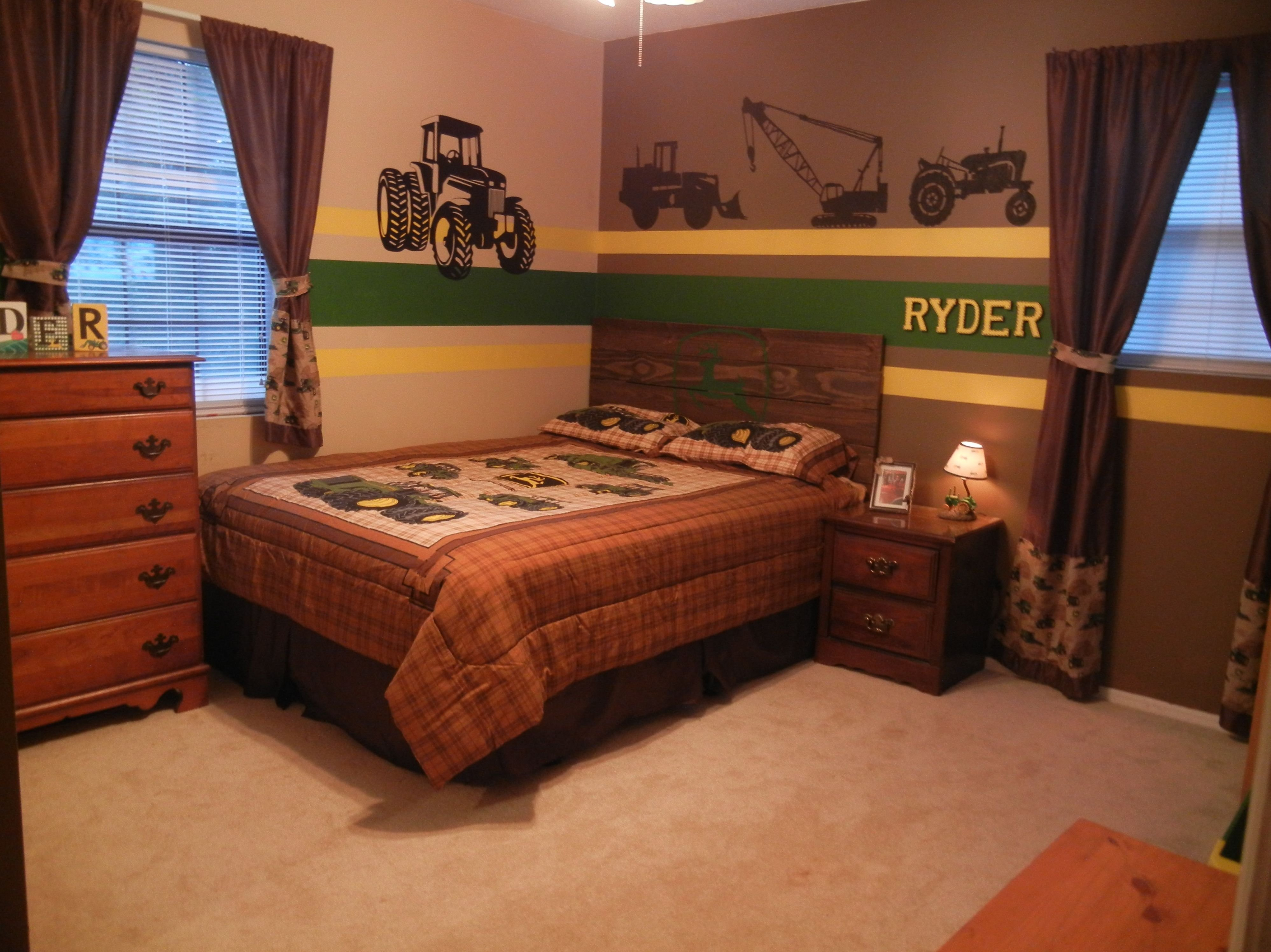 Best 25 John Deere Bedroom Ideas On Pinterest John With Pictures