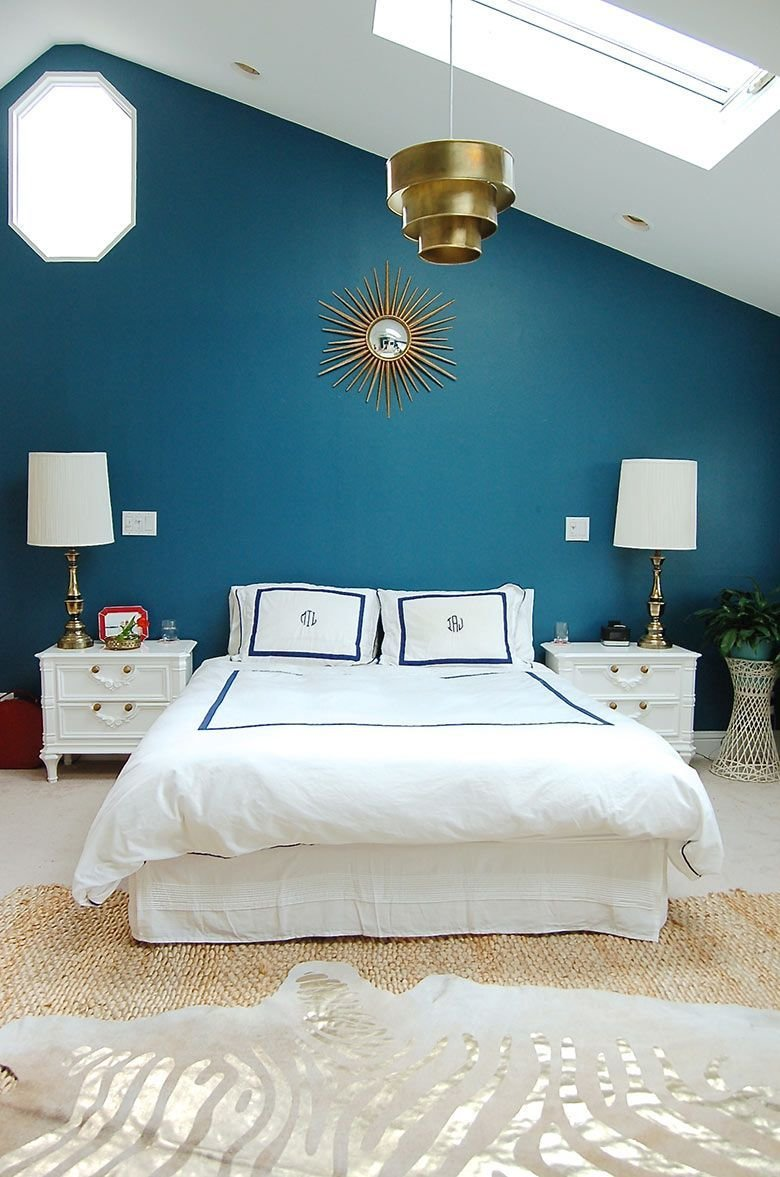 Best Teal Bedroom Feature Wall Google Search Bedroom With Pictures