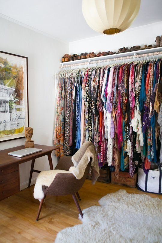 Best Living Without Closets Closet Small Small Spaces And With Pictures