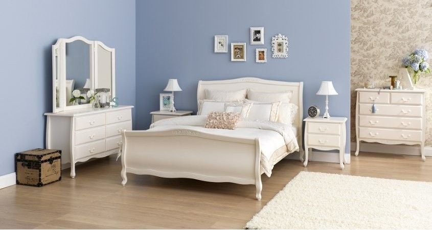 Best Forty Winks Avignon White Classic Romantic Style Bedroom With Pictures
