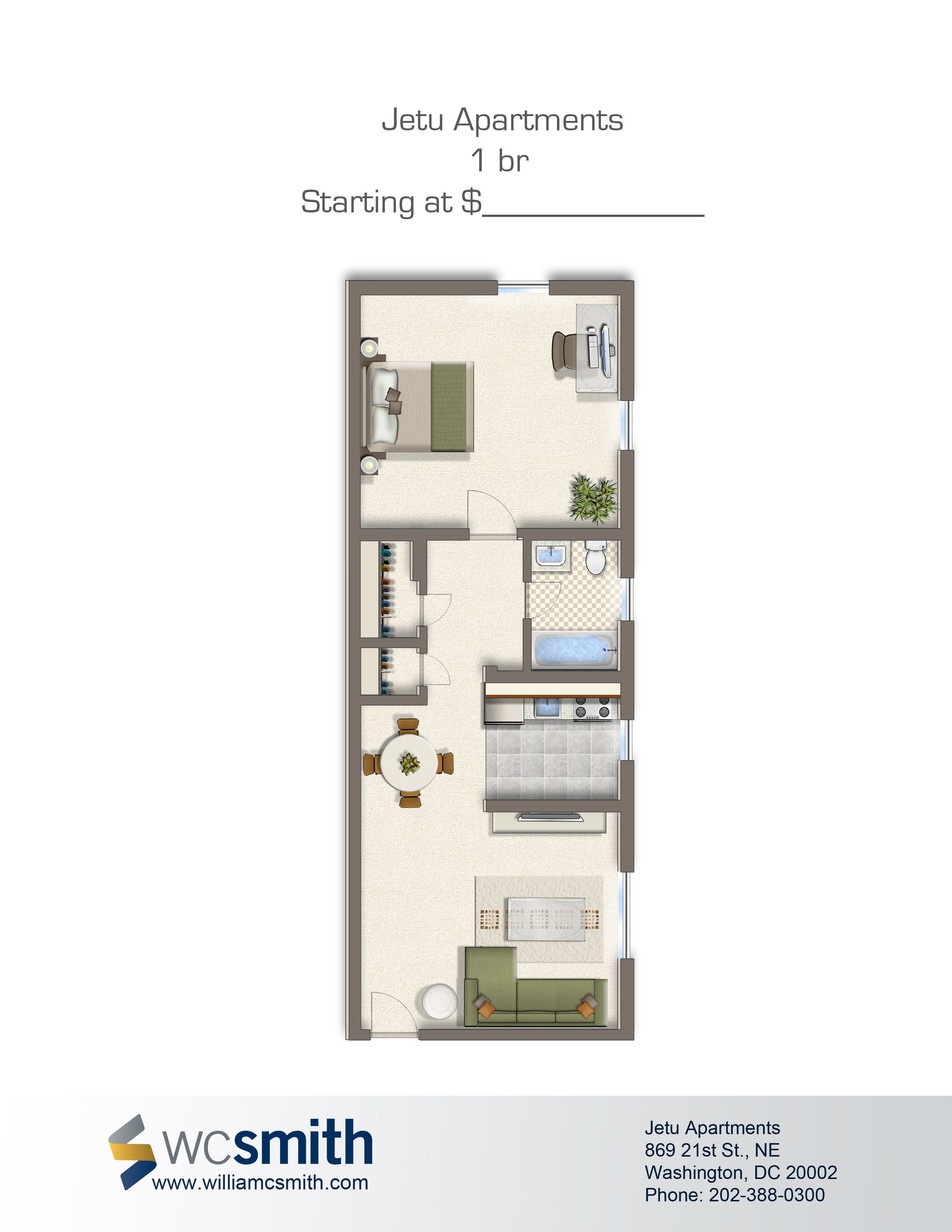 Best Jetu Bedroom Floor Plans Washington Dc And Apartments With Pictures