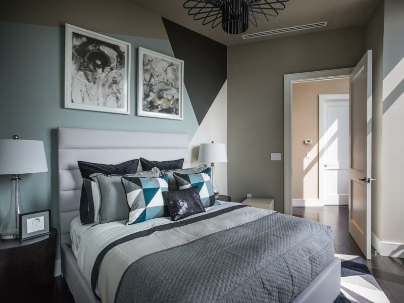 Best Guest Bedroom Design Ideas Best Turquoise Wall Paint Color With Pictures