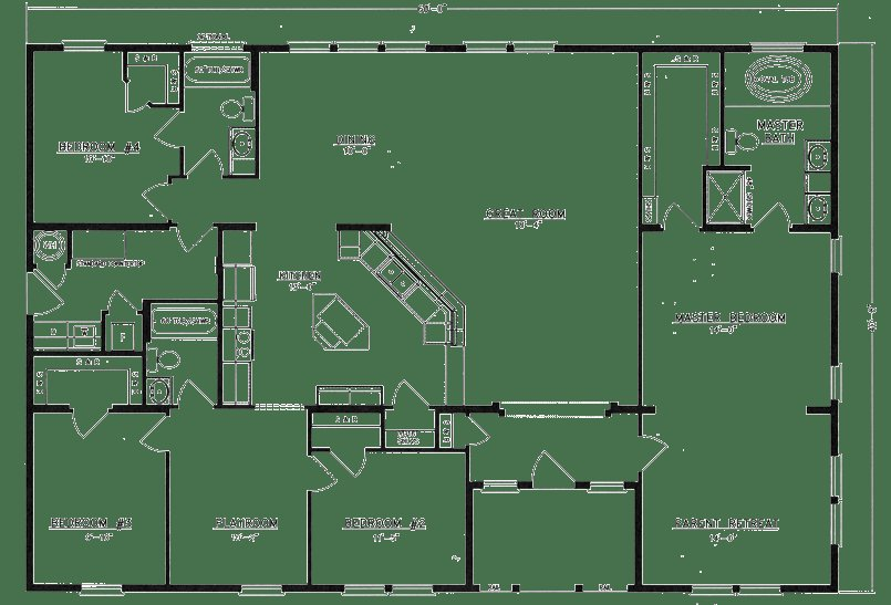 Best Home Floor Plans On Pinterest Barndominium Small House With Pictures