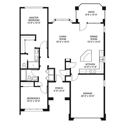 Best House Plans 1200 To 1400 Square Feet Bedroom 650 Sq Ft 1 Bed Summit Cottage Two Bedroom With Pictures