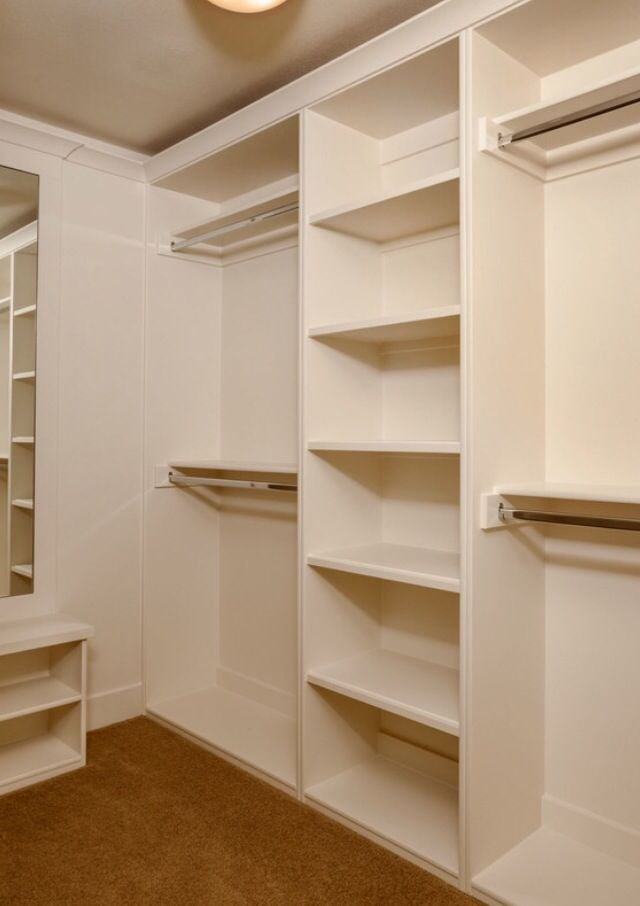 Best Solid Foundation Base For A Custom Closet Closet With Pictures