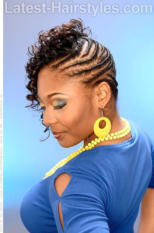Free African Flat Twist Hairstyles Styled Flat Twists Wallpaper