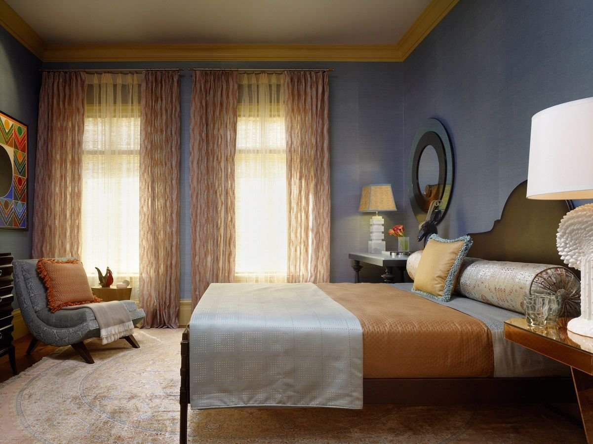 Best Maize And Dusty Periwinkle Bedroom Home Design Ideas With Pictures