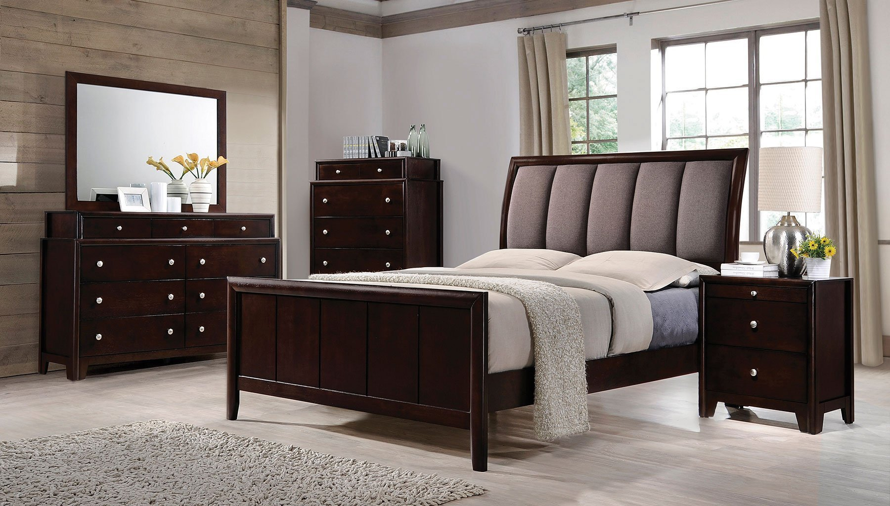 Best Madison Sleigh Bedroom Set Coaster Furniture Furniture Cart With Pictures