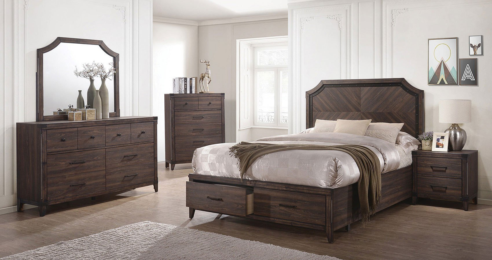 Best Richmond Storage Bedroom Set Coaster Furniture Furniture With Pictures