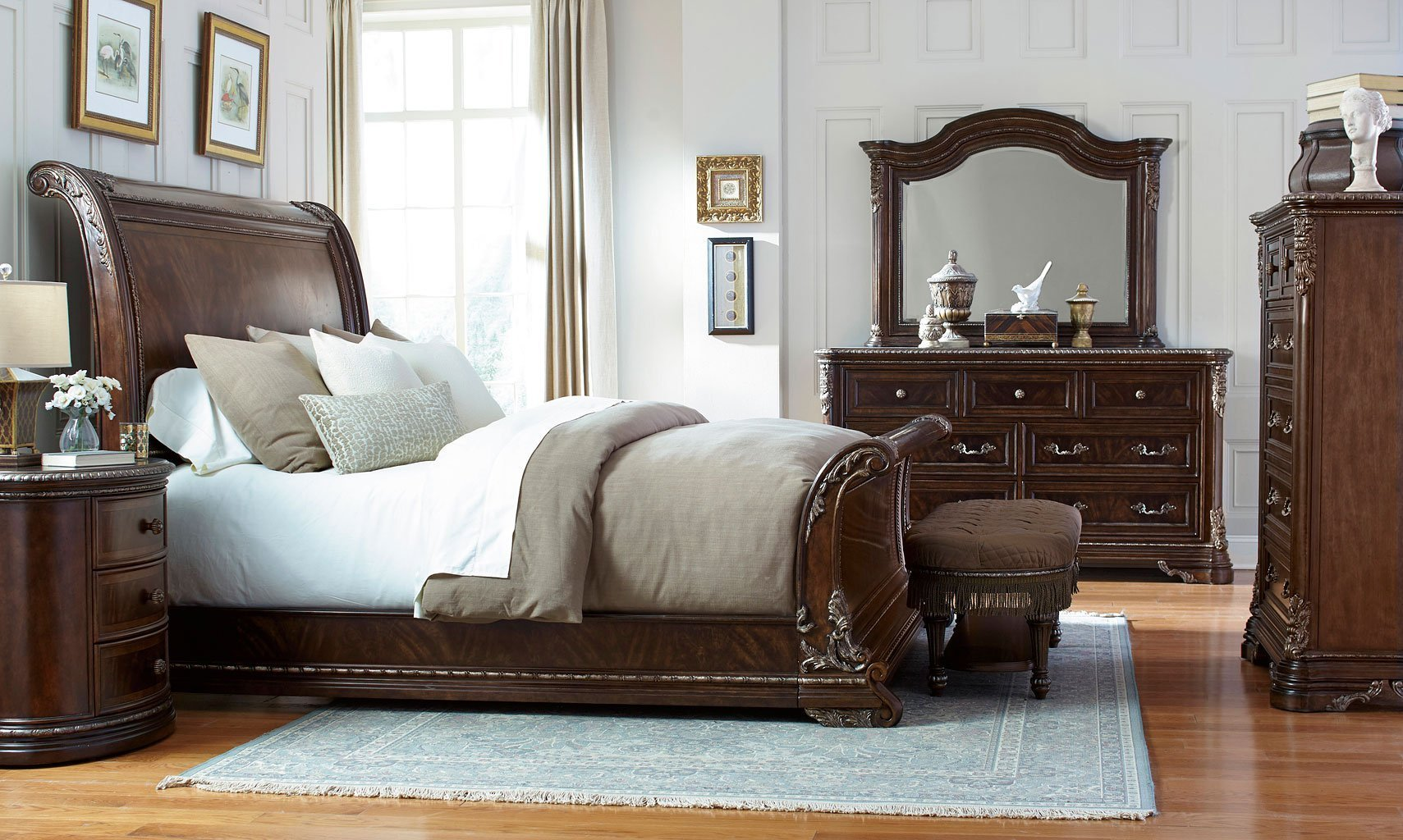 Best Gables Sleigh Bedroom Set Art Furniture Furniture Cart With Pictures