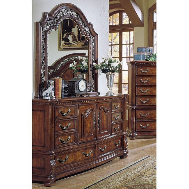 Best San Marino Low Post Bedroom Set Samuel Lawrence Furniture With Pictures
