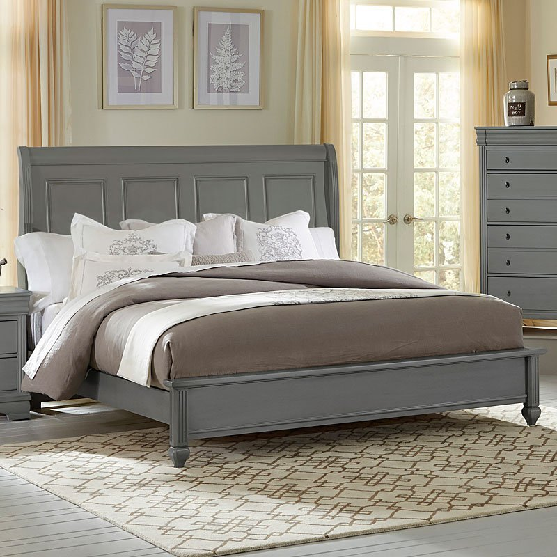 Best French Market Low Profile Bed Zinc Vaughan Bassett With Pictures