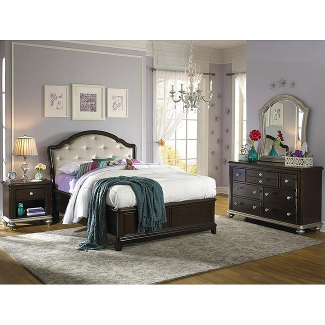 Best Girls Glam Panel Bedroom Set Samuel Lawrence Furniture With Pictures