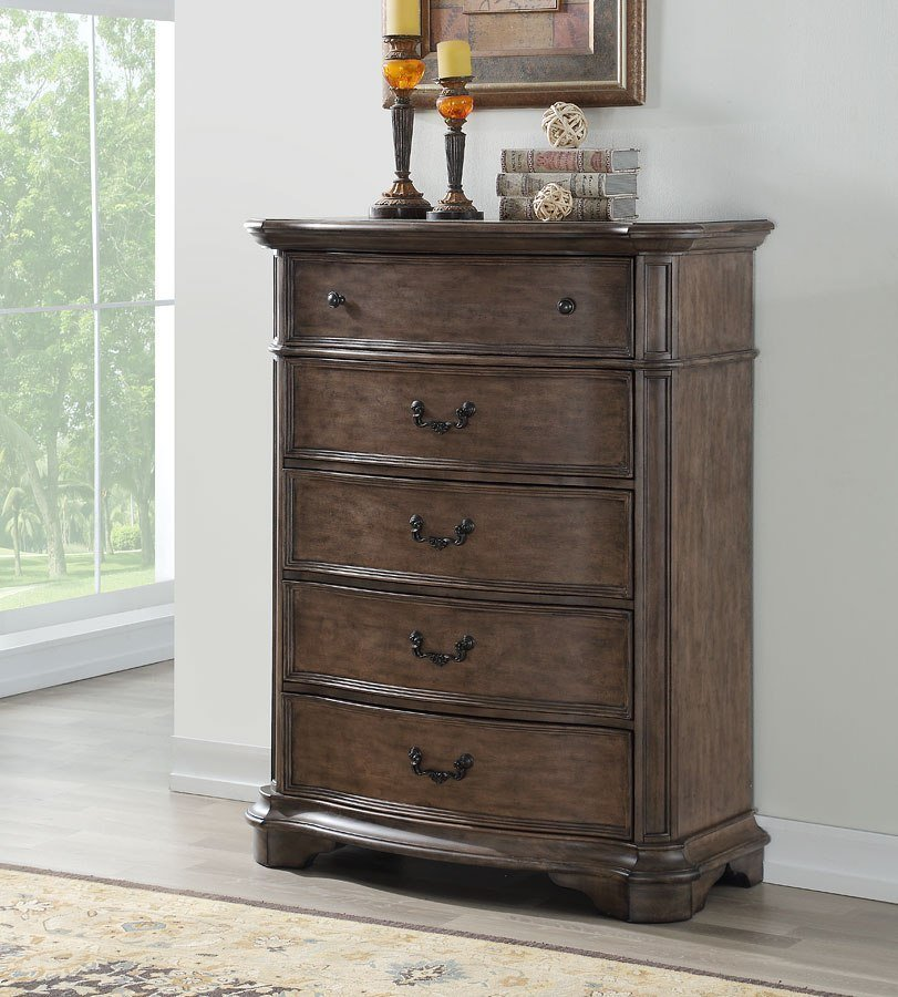Best Tulsa Chest Avalon Furniture Furniture Cart With Pictures