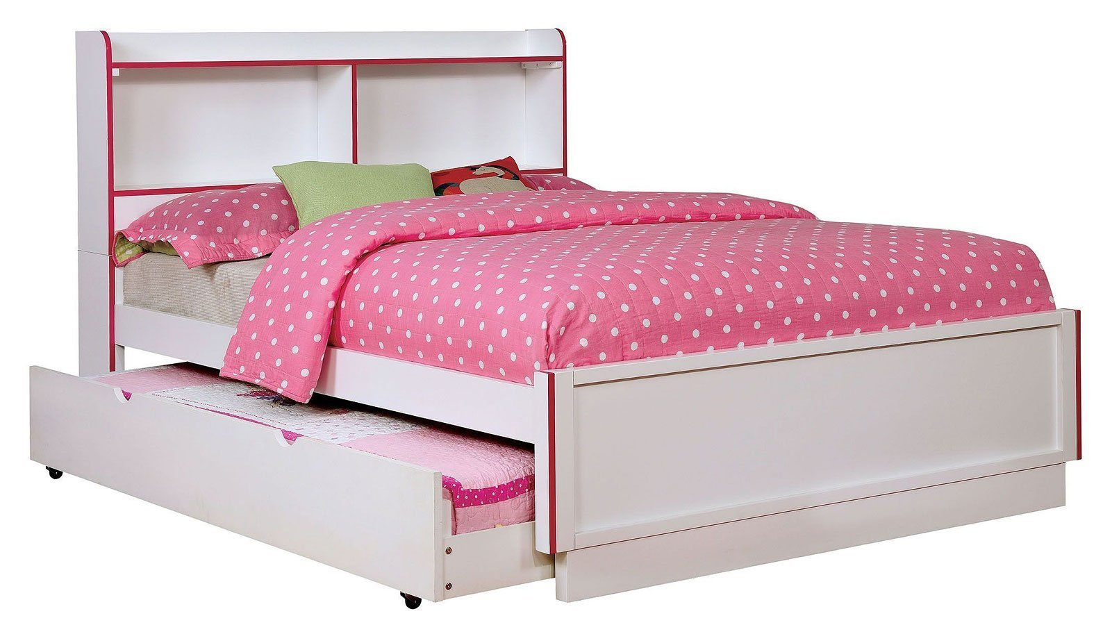 Best Bobbi Pink And White Youth Bedroom Set Furniture Of With Pictures