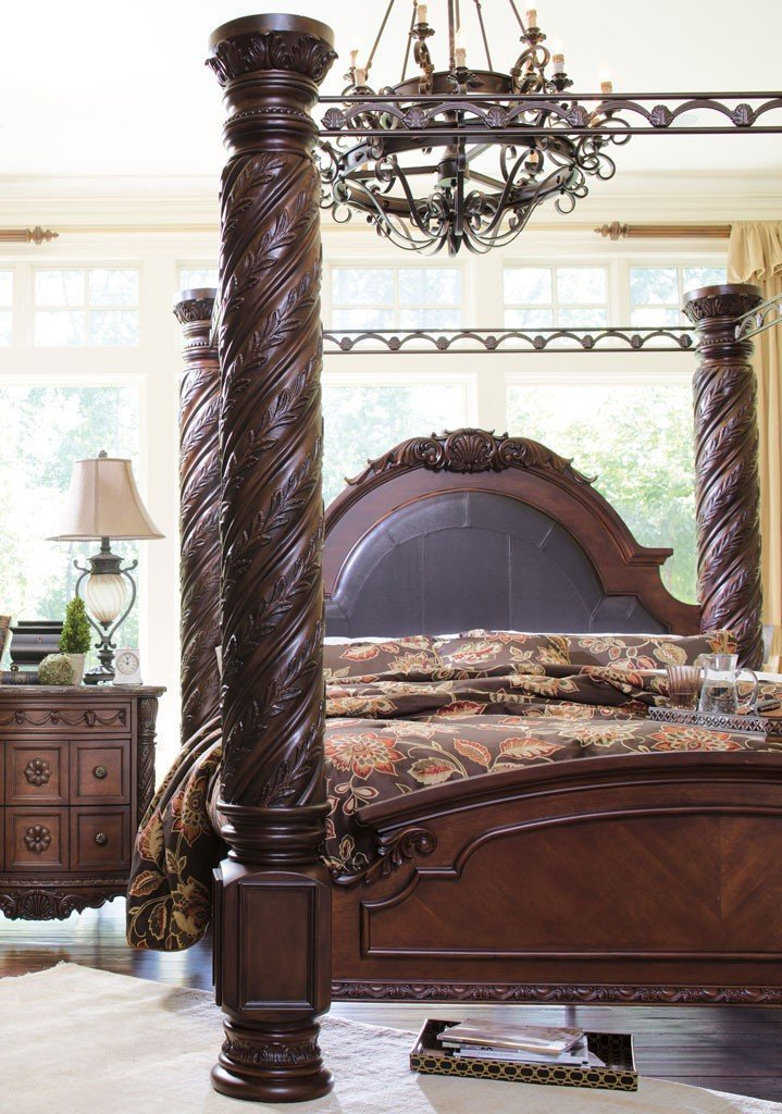Best North Shore Canopy Bedroom Set Millennium 6 Reviews With Pictures
