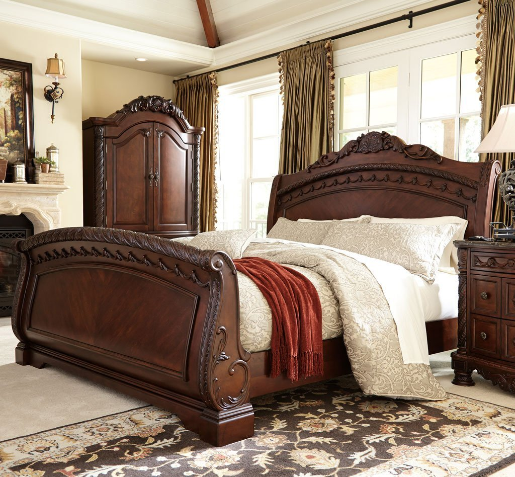 Best North Shore Sleigh Bed Millennium 5 Reviews Furniture Cart With Pictures