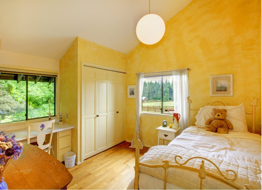 Best Yellow Bedroom Kids Room Paint Ideas 7 Bright Choices With Pictures