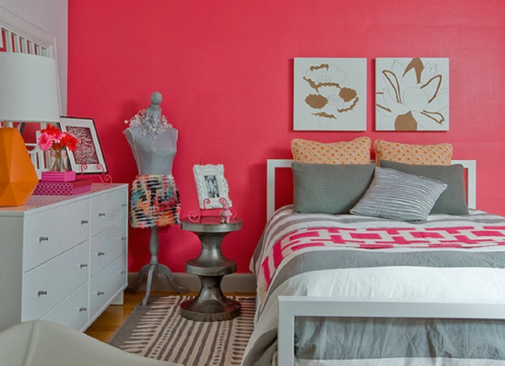 Best Pink Bedroom Ideas Kids Room Paint Ideas 7 Bright With Pictures