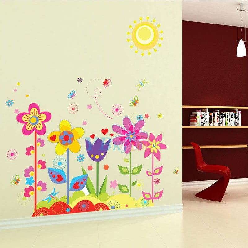 Best Diy Removable Vinyl Flower Butterfly Wall Stickers Art Mural Decor Kids Nursery Ebay With Pictures