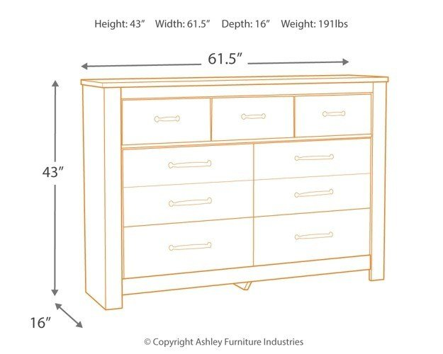 Best Bellaby Dresser Dressers Texas Discount Furniture With Pictures