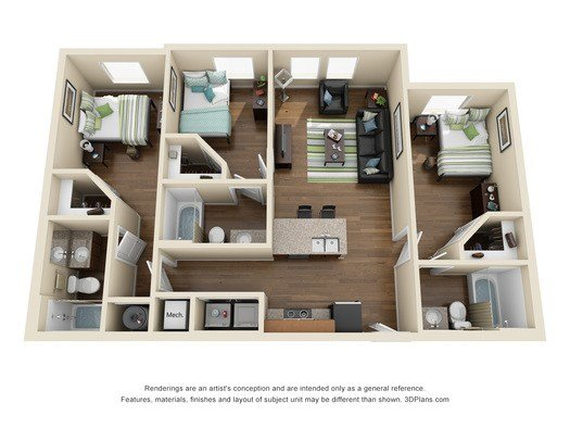 Best Oklahoma State University Apartments 3 Bed 3 Bath With Pictures