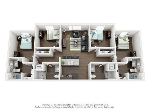 Best Oklahoma State University Apartments 4 Bed 4 Bath 312 With Pictures