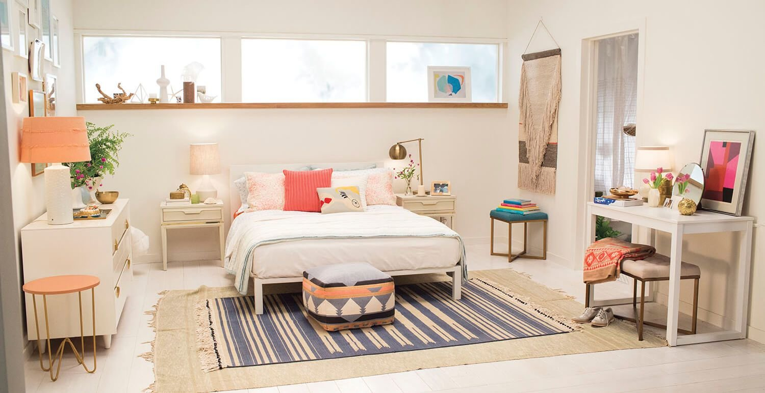 Best Target Chapter 7 Navy Blue Accent Wall Bedroom Makeover With Pictures