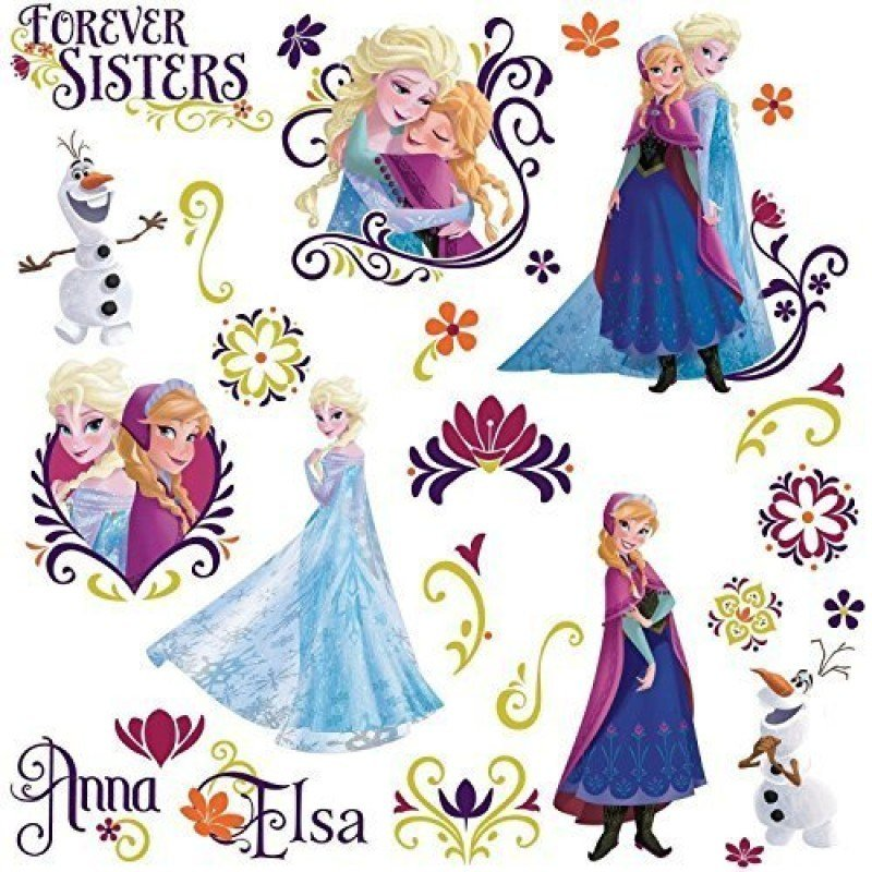 Best Wall Decal For Girl Frozen Spring 27 Wall Decals Disney With Pictures