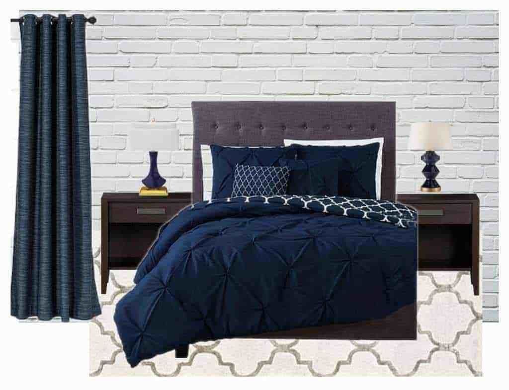 Best Navy Blue And Gray Bedroom Ideas The Handyman S Daughter With Pictures