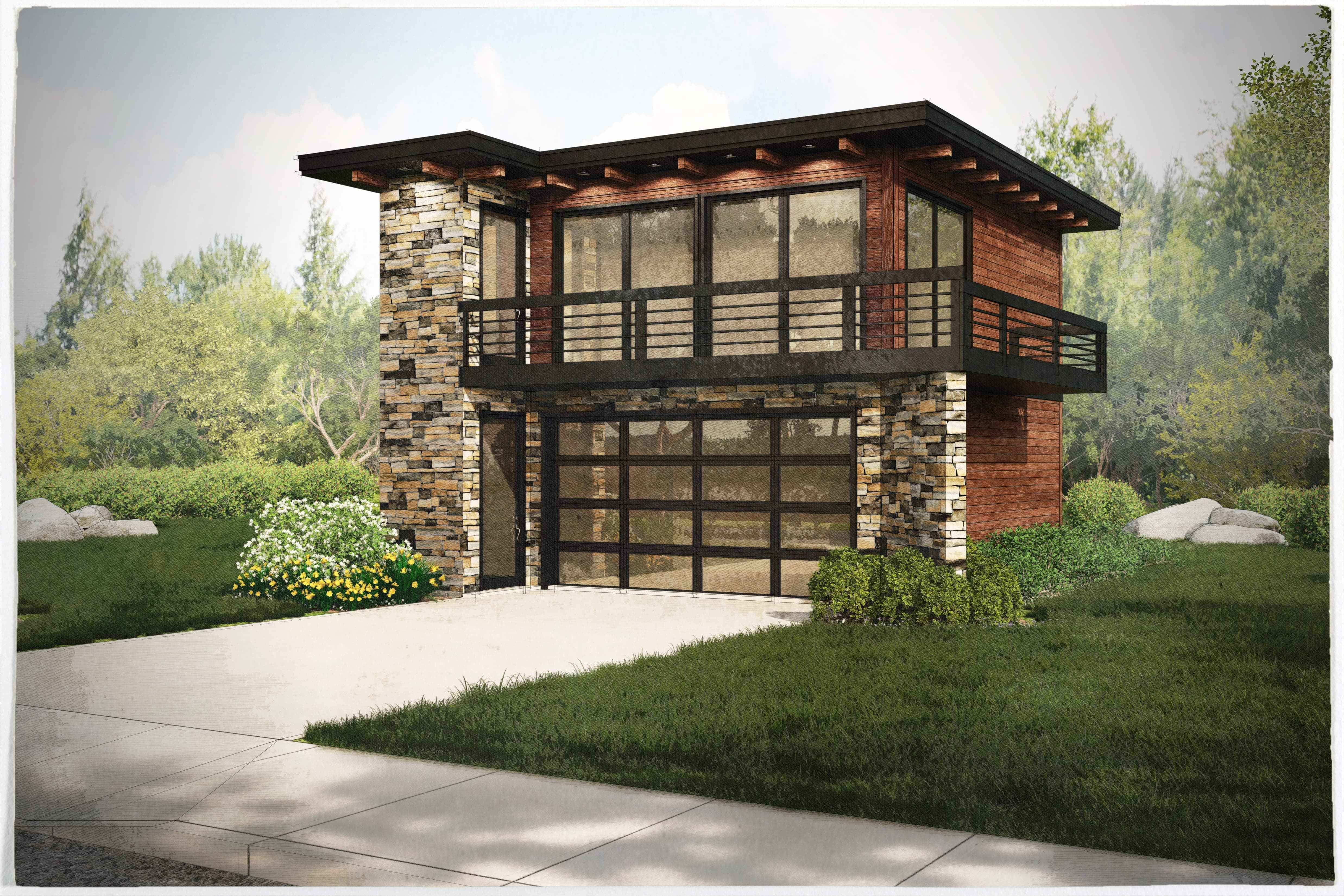 Best Garage W Apartments With 2 Car 1 Bedrm 615 Sq Ft Plan With Pictures