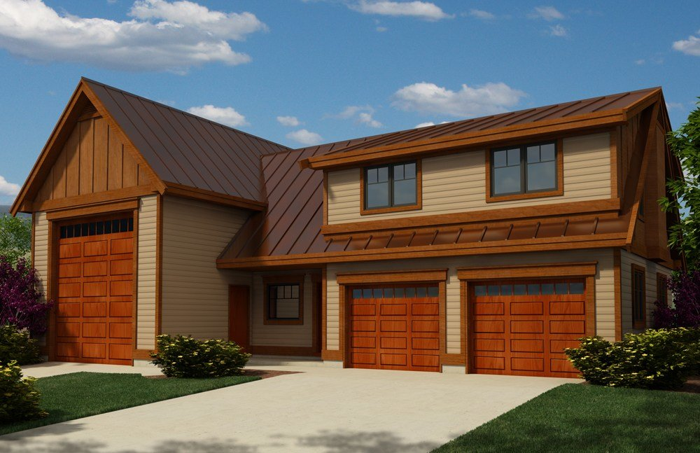 Best Garage W Apartments House Plan 160 1026 2 Bedrm 1173 Sq With Pictures