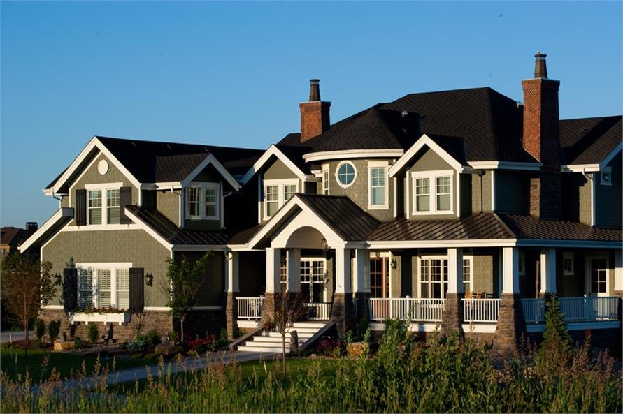 Best House Plan 161 1044 Luxury Home In Craftsman Shingle With Pictures