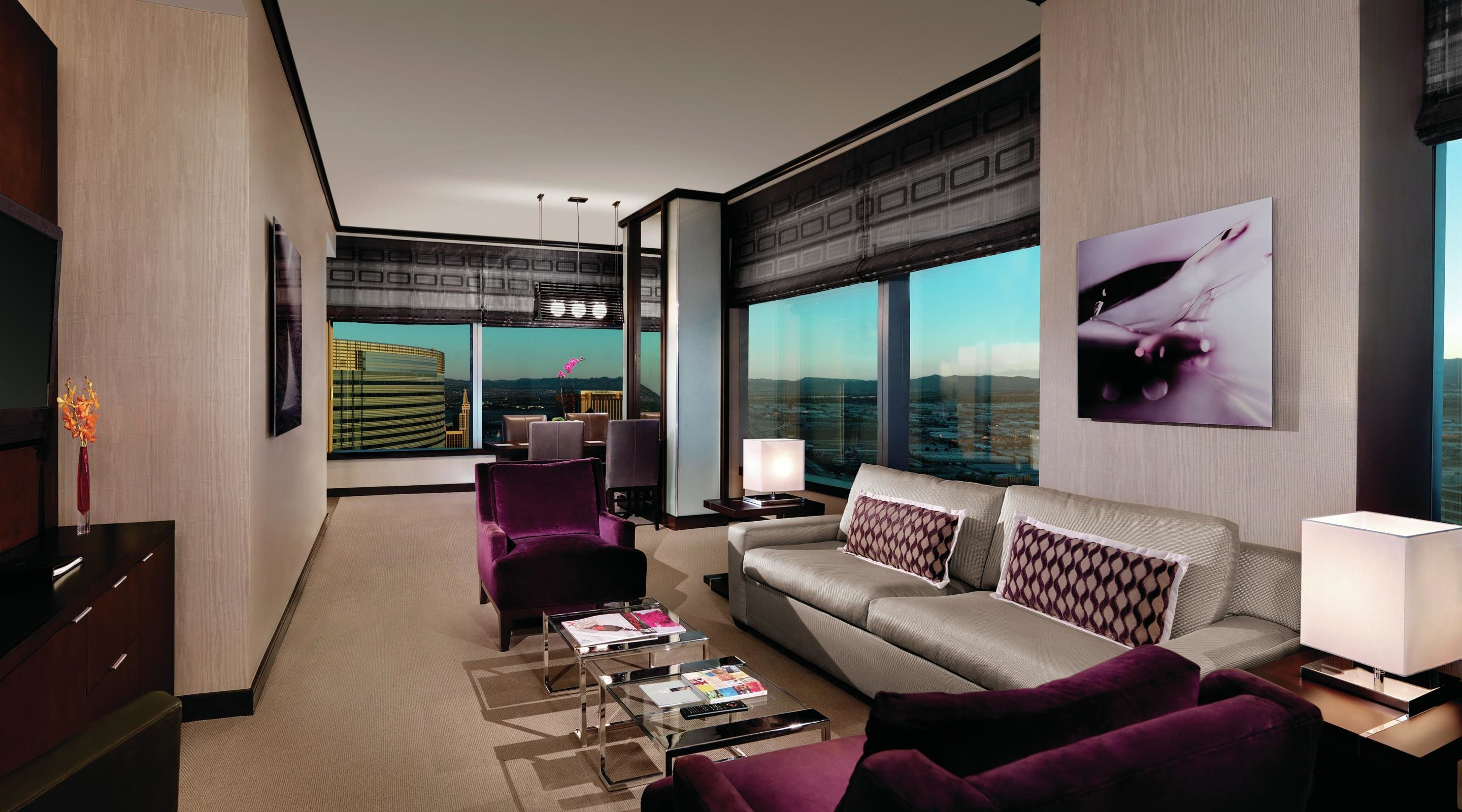 Best P*Nth**S* Suites 2 Bedroom P*Nth**S* Suite Vdara Hotel With Pictures