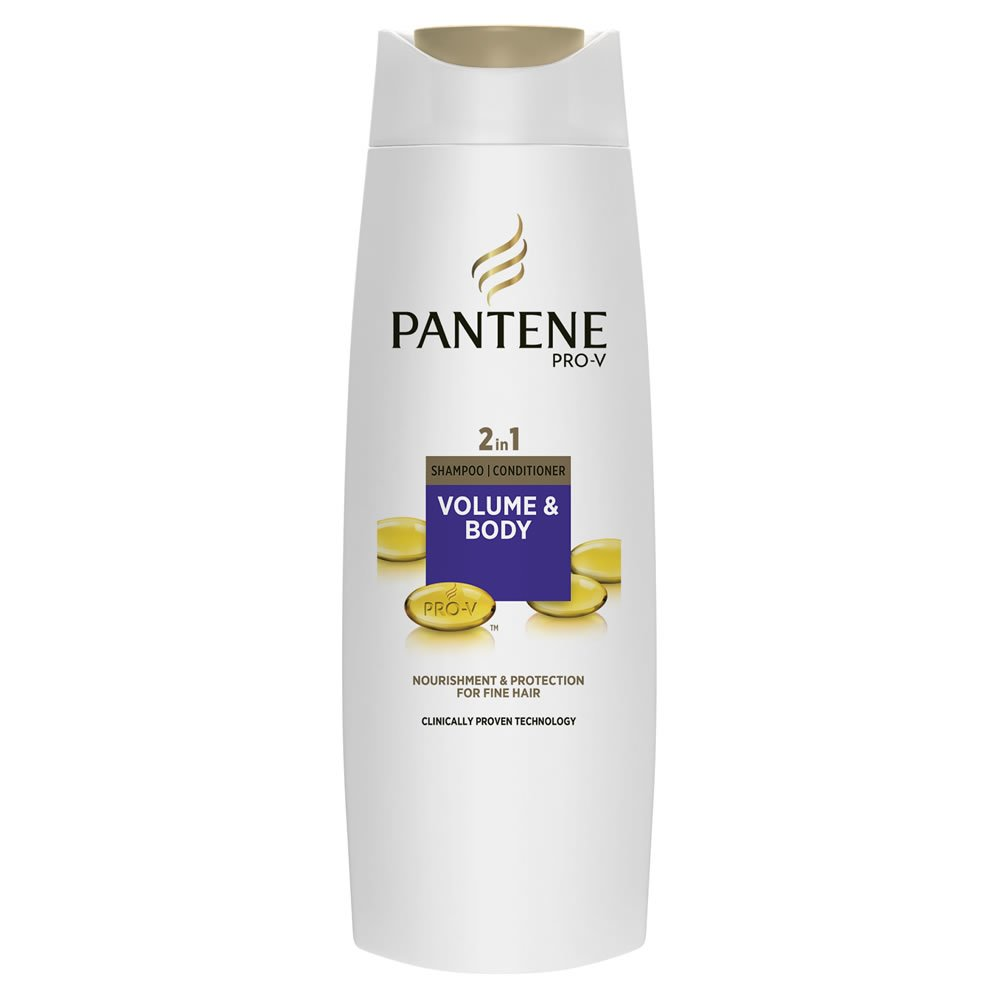 Free Pantene 2 In 1 Shampoo And Conditioner Volume And Body For Wallpaper