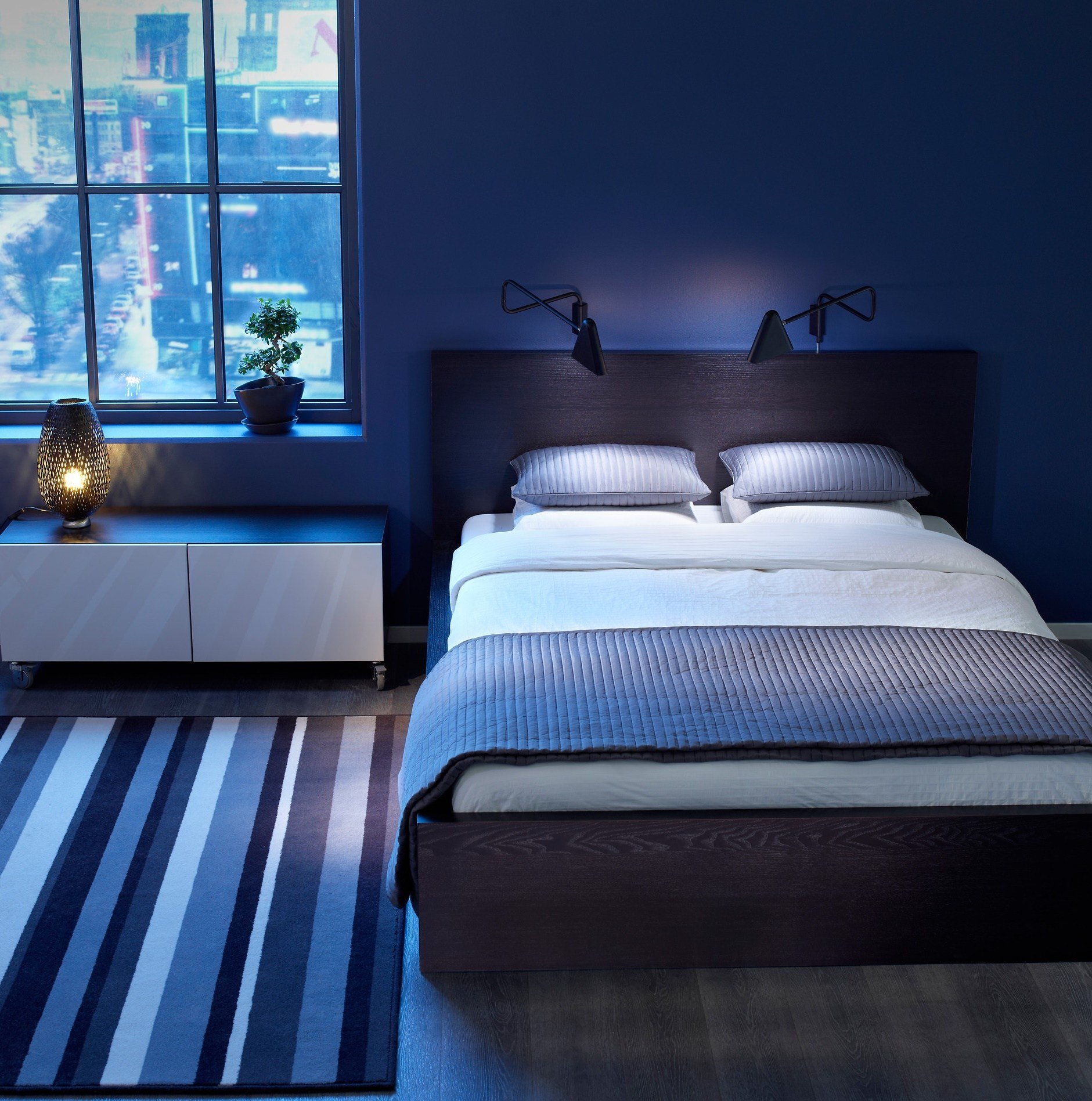 Best Blue Bedroom Idea With Comfortable Space Design Amaza Design With Pictures