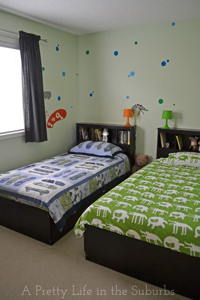 Best House Tour My Boys Shared Bedroom A Pretty Life In The With Pictures