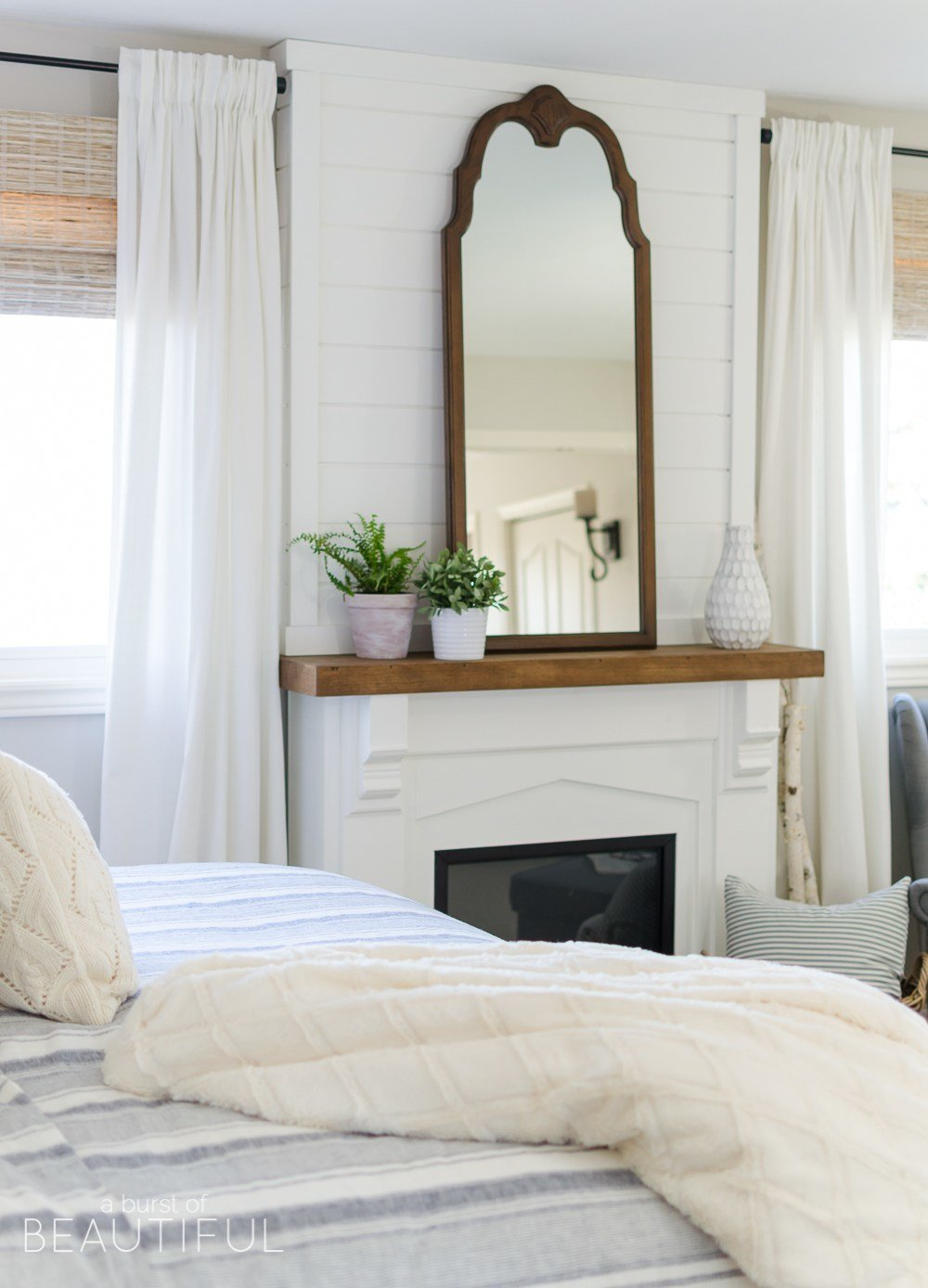 Best Cozy Farmhouse Master Bedroom A Burst Of Beautiful With Pictures