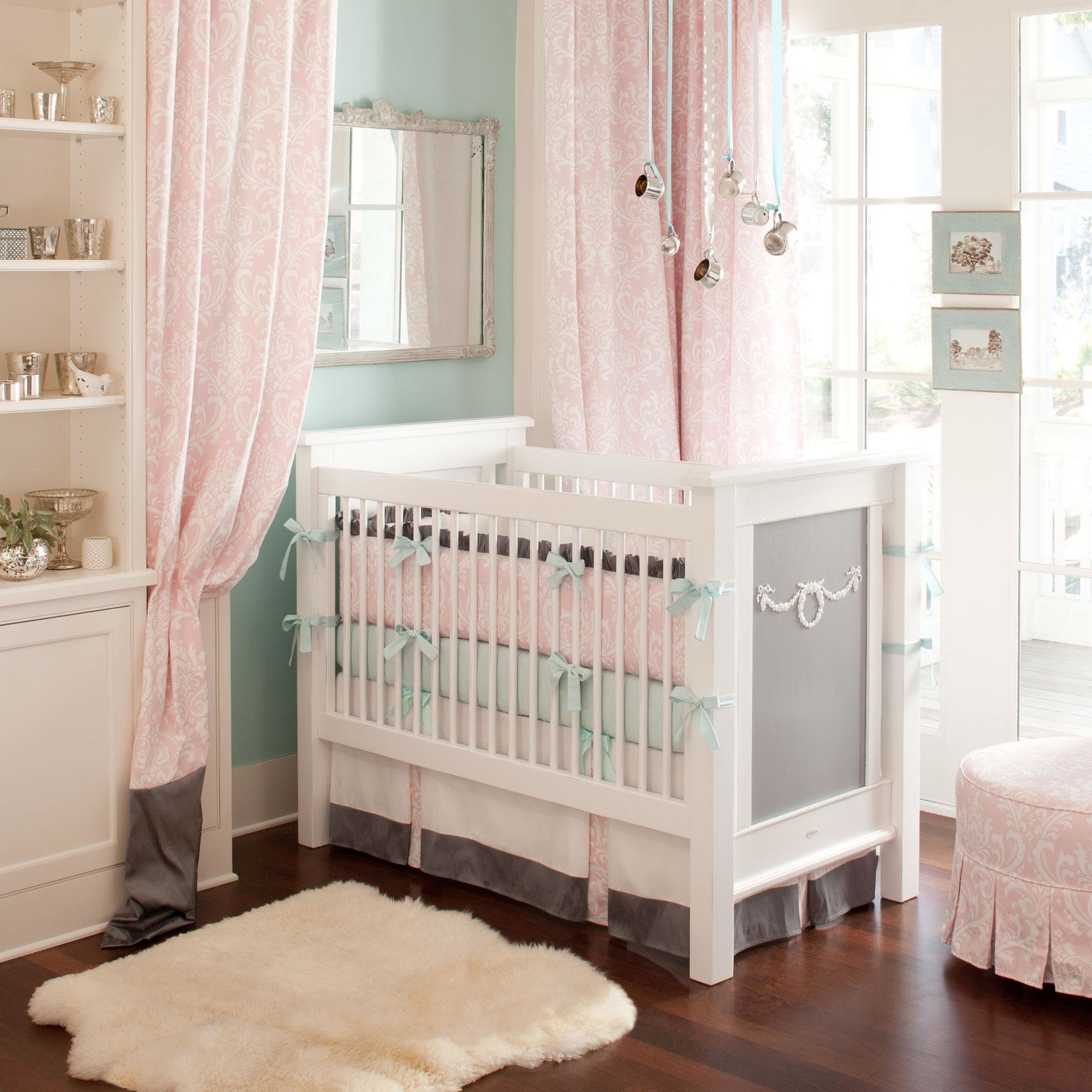 Best Ritzy Baby Crib Bedding Girl Baby Bedding In Pink And With Pictures