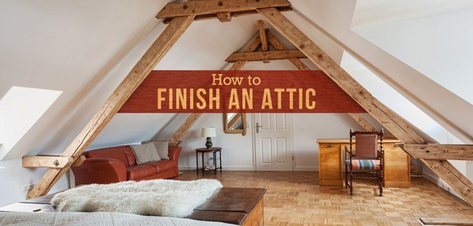 Best How To Finish An Attic Budget Dumpster With Pictures