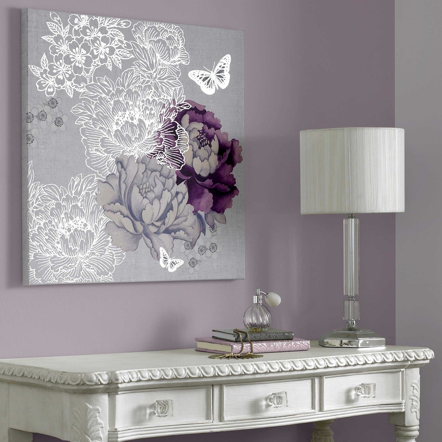 Best 2019 Best Of Purple Wall Art For Bedroom With Pictures