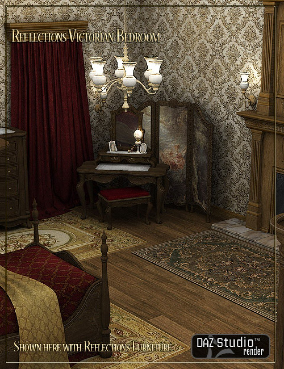 Best Reflections Victorian Bedroom 3D Models And 3D Software With Pictures