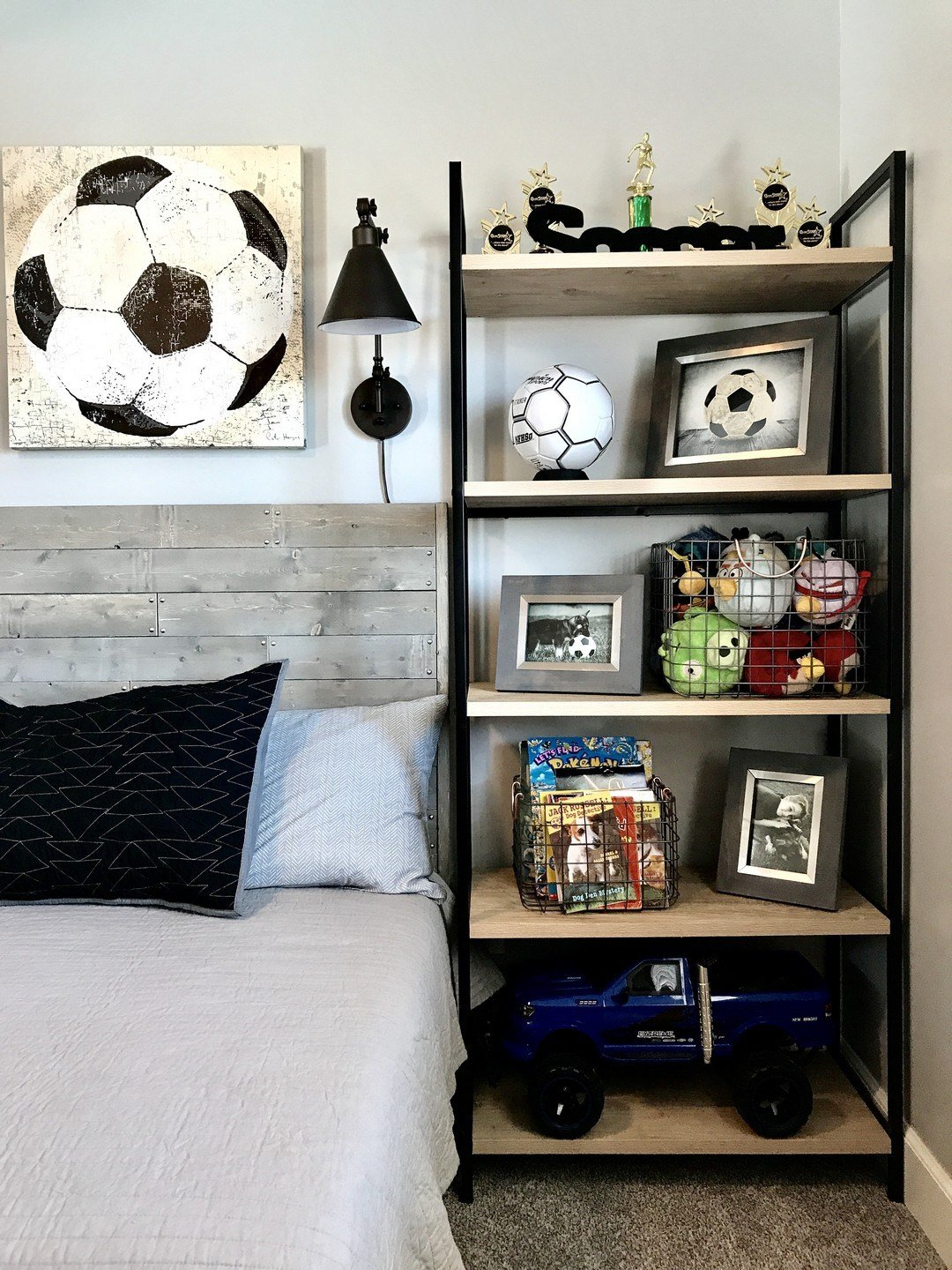 Best Stylish Soccer Themed Bedroom Design For Boys 3 Decomagz With Pictures