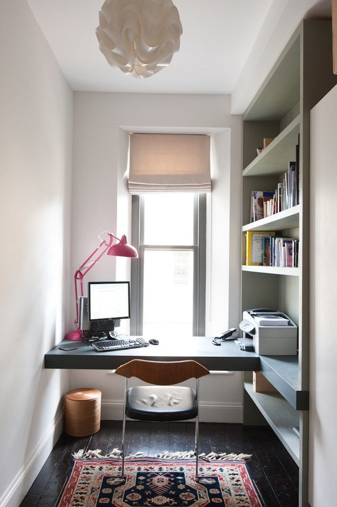 Best 57 Cool Small Home Office Ideas Digsdigs With Pictures