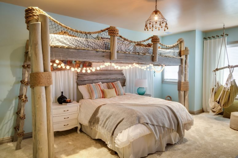 Best 49 Beautiful Beach And Sea Themed Bedroom Designs Digsdigs With Pictures